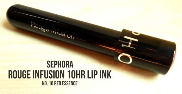 sephora rouge infusion red essence