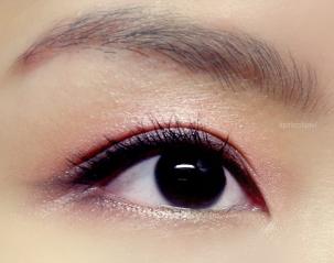 beauty eotd eye makeup spring pink eyeshadow urban decay