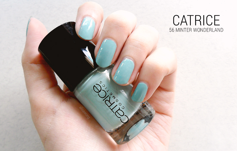 Catrice Nail Polish 56 Minter Wonderland Review