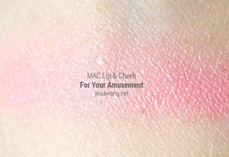 mac casual colour lip & cheek colour review for your amusement