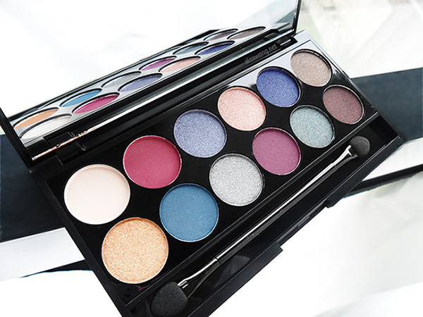 sleek enchanted forest palette swatches and review